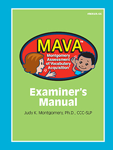 Picture of MAVA: Examiner's Manual
