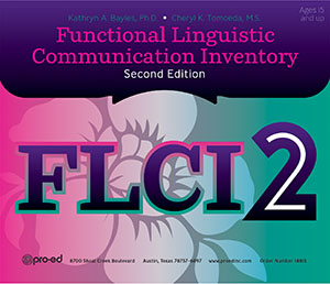 Picture of FLCI-2: Functional Linguistic Communication Inventory-Second Edition-Complete Kit