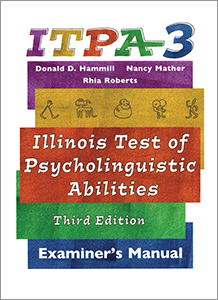 Picture of ITPA-3 Examiner's Manual