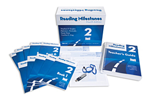 Picture of Reading Milestones 4th Edition, Level 2 (Blue) Package