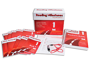Picture of Reading Milestones - 4th Edition, Level 1 (Red) Package