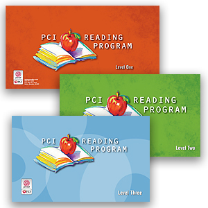 Picture of PCI Reading Program Levels 1, 2 & 3 COMBO
