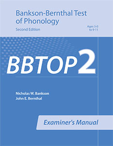 Picture of BBTOP-2 Examiner's Manual
