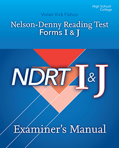 Picture of NDRT Forms I & J-Examiner's Manual