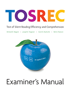 Picture of TOSREC Virtual Examiner's Manual and Scoring Key